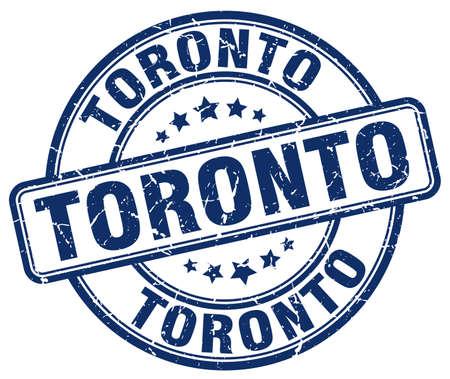 toronto: Toronto blue grunge round vintage rubber stamp.Toronto stamp.Toronto round stamp.Toronto grunge stamp.Toronto.Toronto vintage stamp.