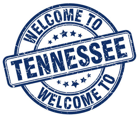 tennesse: Bienvenido a Blue cosecha sello redondo Tennessee