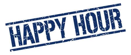 happy hour blu d'epoca grunge piazza timbro di gomma