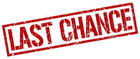 Last Chance Clipart