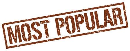 most popular: most popular brown grunge square vintage rubber stamp