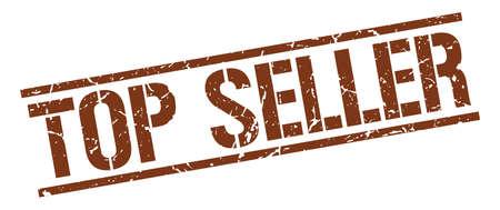 top seller: top seller brown grunge square vintage rubber stamp