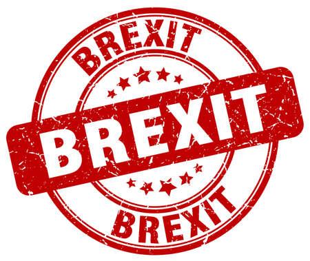 remain: Brexit stamp Illustration