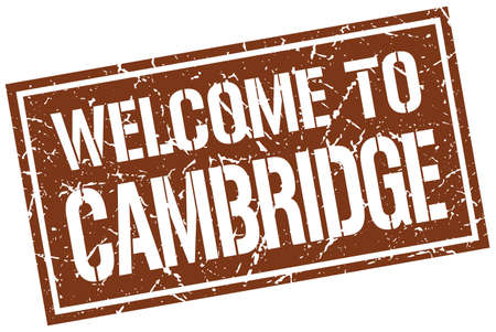 cambridge: welcome to Cambridge stamp