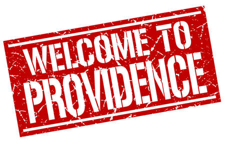 providence: welcome to Providence stamp
