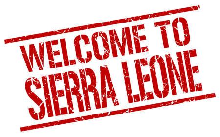 leone: welcome to Sierra Leone stamp