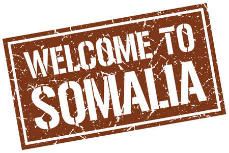 somalia: welcome to Somalia stamp
