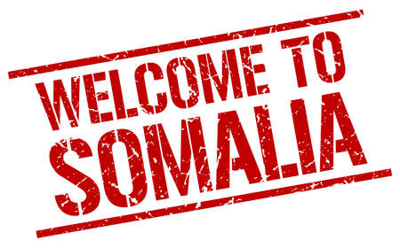 somalia: welcome to Somalia stamp