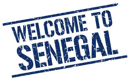 senegal: welcome to Senegal stamp