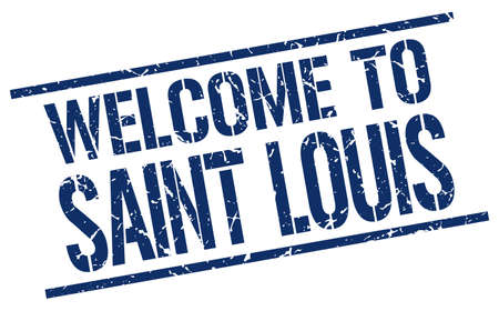 louis: welcome to Saint Louis stamp