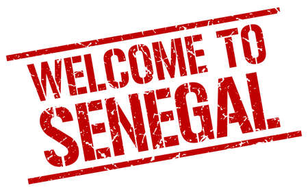 senegal: welcome to Senegal stamp