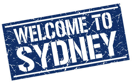 sydney: welcome to Sydney stamp