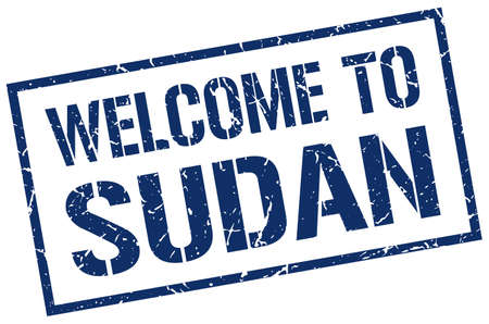 Sudan: welcome to Sudan stamp