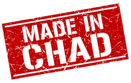 chad: made in Chad stamp
