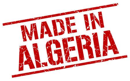 algeria: made in Algeria stamp