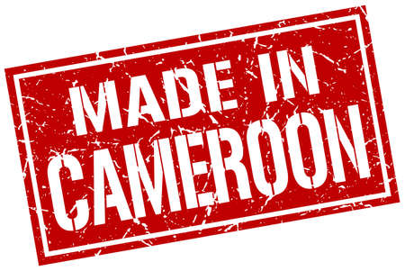 cameroon: made in Cameroon stamp