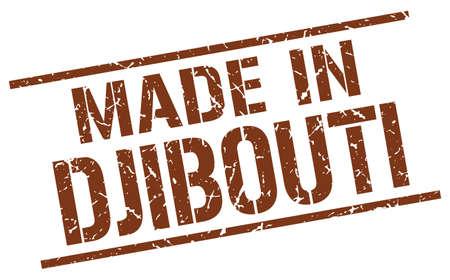 djibouti: made in Djibouti stamp