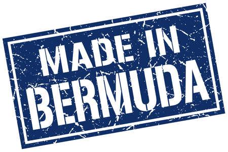 made in Bermuda stamp
