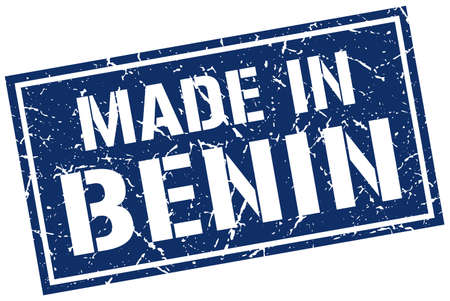 benin: made in Benin stamp Illustration