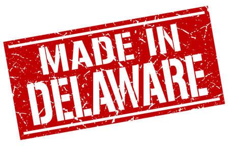 delaware: made in Delaware stamp