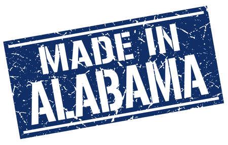 Alabama: made in Alabama stamp