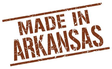 arkansas: made in Arkansas stamp