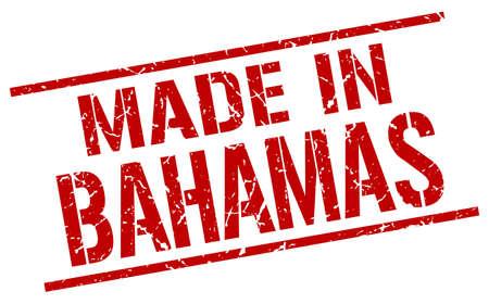 bahamas: made in Bahamas stamp