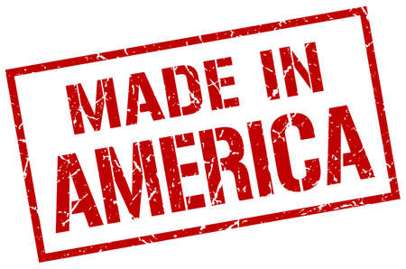 made in America stamp 版權商用圖片 - 62549761