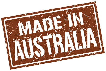 australia stamp: made in Australia stamp
