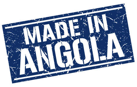 angola: made in Angola stamp