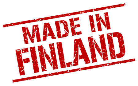 made in finland: made in Finland stamp