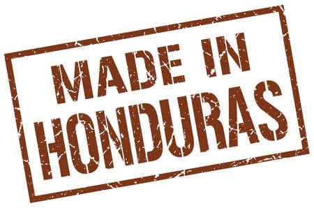 honduras: made in Honduras stamp Illustration