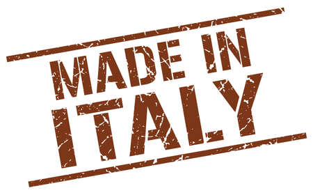 made in italy: made in Italy stamp