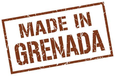 grenada: made in Grenada stamp