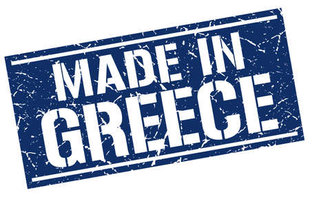 made in greece: made in Greece stamp