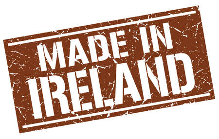 ireland: made in Ireland stamp Illustration