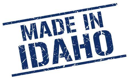 idaho: made in Idaho stamp