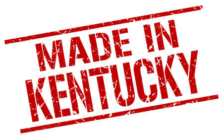 kentucky: made in Kentucky stamp