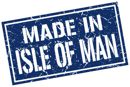 produced: made in Isle Of Man stamp