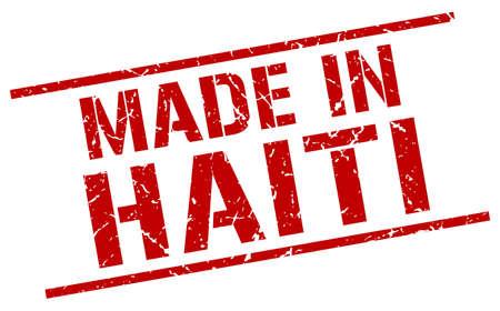 haiti: made in Haiti stamp