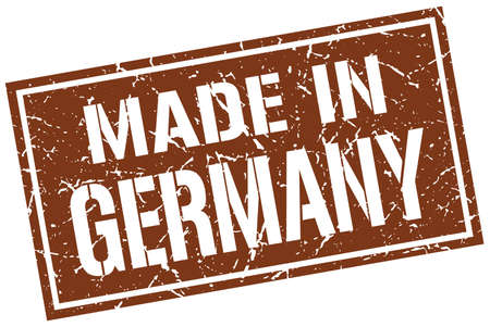 produced: made in Germany stamp