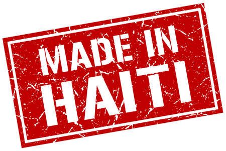 produced: made in Haiti stamp