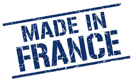 produced: made in France stamp