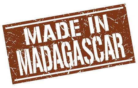 made in Madagascar stamp