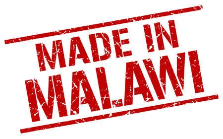 malawi: made in Malawi stamp