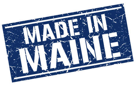 produced: made in Maine stamp