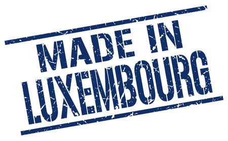 luxembourg: made in Luxembourg stamp