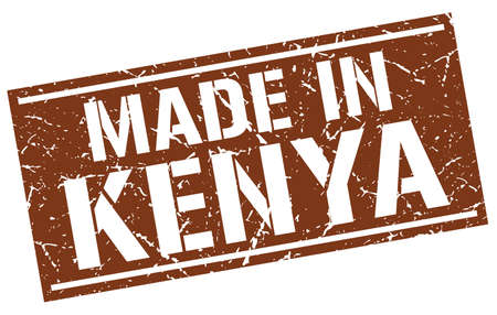 produced: made in Kenya stamp