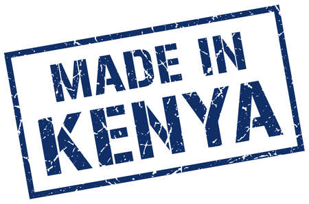 kenya: made in Kenya stamp