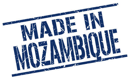 mozambique: made in Mozambique stamp